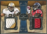 2011 Topps Five Star #FSDPIJ Mark Ingram & Julio Jones Dual Patch #15/15