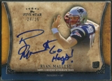 2011 Topps Five Star #FSFQARM Ryan Mallett Rookie Quotable Auto #24/25