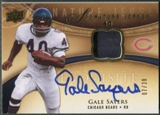 2009 Exquisite Collection #SJGS Gale Sayers Signature Jersey Auto #07/30