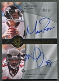 2009 Ultimate Collection #DTR Matt Ryan & Michael Turner Ultimate Signatures Duals Auto #05/15