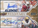 2009 Upper Deck Draft Edition #248 LeSean McCoy & Larry Fitzgerald Alumni Association Auto #18/50