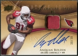 2009 Exquisite Collection #SJAB Anquan Boldin Signature Jersey Auto #30/30