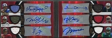 2009 Topps Triple Threads #5 Stafford Sanchez Freeman Heyward-Bey Crabtree Maclin Rookie Jersey Auto #06/10