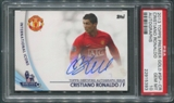 2013 Topps English Premier League #SPCR Cristiano Ronaldo Gold Star Players Auto PSA 10