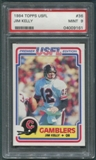 1984 Topps USFL Football #36 Jim Kelly Rookie PSA 9 (MINT) *9161