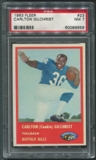 1963 Fleer Football #23 Cookie Gilchrist Rookie PSA 7 (NM) *9658