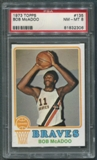 1973/74 Topps Basketball #135 Bob McAdoo Rookie PSA 8 (NM-MT) *2306