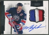 2011/12 Dominion #63 Mark Messier Patch Auto #06/25