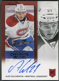 2013-14 Panini Contenders #265A Alex Galchenyuk Rookie Auto SP