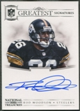 2012 Panini National Treasures #35 Rod Woodson NFL Greatest Signatures Auto #01/25