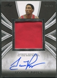 2012/13 Leaf Signature #SP1 Scottie Pippen Scottie Pippen Patch Auto #91/99