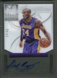 2012/13 Elite #24 Kobe Bryant Series Veteran Inscriptions Auto #27/99