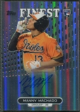 2013 Finest #MM Manny Machado Rookie Refractor Auto