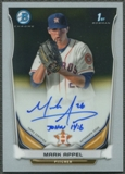 2014 Bowman Chrome Prospect #BCAPMA Mark Appel Rookie Auto