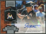 2013 Topps #GST Giancarlo Stanton Chasing History Auto