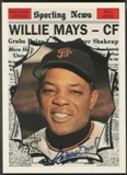 1997 Topps Mays #15 Willie Mays 1961 Topps AS Auto