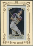 2014 Topps Gypsy Queen #318 Luis Gonzalez Mini Clear #1/1