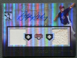 2010 Topps Tribute #SS Stephen Strasburg Rookie Dual Base Auto #01/99