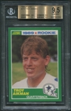 1989 Score Football #270 Troy Aikman Rookie BGS 9.5