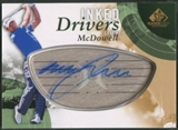 2014 SP Game Used #IDGM Graeme McDowell Inked Drivers Auto