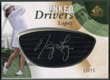 2014 SP Game Used #IDNL Nancy Lopez Inked Drivers Black Auto #15/25