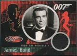 2002 James Bond 40th Anniversary #CC1 Sean Connery From The Archives Dr. No Tuxedo