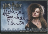 2009 Harry Potter and the Half-Blood Prince #5 Helena Bonham Carter as Bellatrix Lestrange Auto