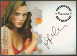 2002 Alias Season One #A1 Jennifer Garner as Sydney Bristow Auto