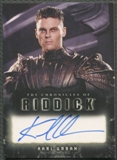 2004 The Chronicles of Riddick #A3 Karl Urban as Vaako Auto
