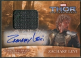 2013 Thor The Dark World #MAZL Zachary Levi as Fandral Dark Materials Auto