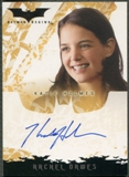 2005 Batman Begins Movie #3 Katie Holmes as Rachel Dawes Auto