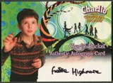 2005 Charlie and the Chocolate Factory #5 Freddie Highmore as Charlie Bucket Auto