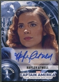 2014 Captain America The Winter Soldier #HA Hayley Atwell as Peggy Carter Auto