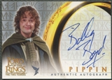 2002 Lord of the Rings The Two Towers #NNO Billy Boyd as Pippin Auto