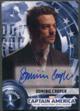 2014 Captain America The Winter Soldier #DC Dominic Cooper as Howard Stark Auto