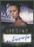 2004 The Chronicles of Riddick #A6 Thandie Newton as Dame Vaako Auto