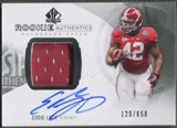 2013 SP Authentic #177 Eddie Lacy Rookie Patch Auto #120/650
