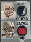 2010 Exquisite Collection #FR Doug Flutie & Matt Ryan Combos Patch #17/50