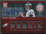 2012 Totally Certified #224 Nick Foles Rookie Jersey Auto #100/199