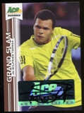 2013 Leaf Ace Authentic Grand Slam Brown #BAJWT Jo-Wilfried Tsonga Autograph 32/50