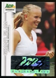 2013 Leaf Ace Authentic Grand Slam #BACW1 Caroline Wozniacki Autograph