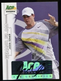 2013 Leaf Ace Authentic Grand Slam #BAJI1 John Isner Autograph