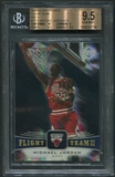 2004/05 Upper Deck #FT33 Michael Jordan Flight Team Onyx #20/23 BGS 9.5