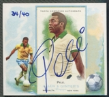 2013 Topps Allen and Ginter #N43AP Pele N43 Auto #34/40