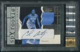 2003/04 SPx #153 Carmelo Anthony Rookie Jersey Auto #360/750 BGS 9