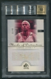 2005/06 SP Signature Edition #LJ LeBron James Marks of Distinction Auto (Faded) #31/40 BGS 8.5