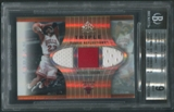 2006/07 Reflections #MJ Michael Jordan Triple Fabric Copper Jersey #14/50 BGS 9