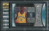 2005/06 SP Authentic #94 Chris Paul Rookie Auto #0104/1299 BGS 9
