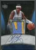 2005/06 Exquisite Collection #APCA Carmelo Anthony Patch Auto #039/100
