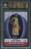 2006/07 Finest #102 Kevin Durant Rookie Refractor #387/399 BGS 9.5